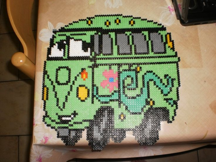 Cars character hama perler by creations-differente - skyrock