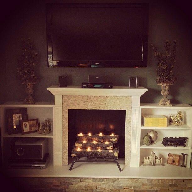 best 25 faux fireplace ideas on