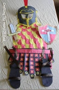 The armor of God described in the book of Ephesians is a popular theme for Sunday School lessons and Vacation Bible Schools. Kids not only like...