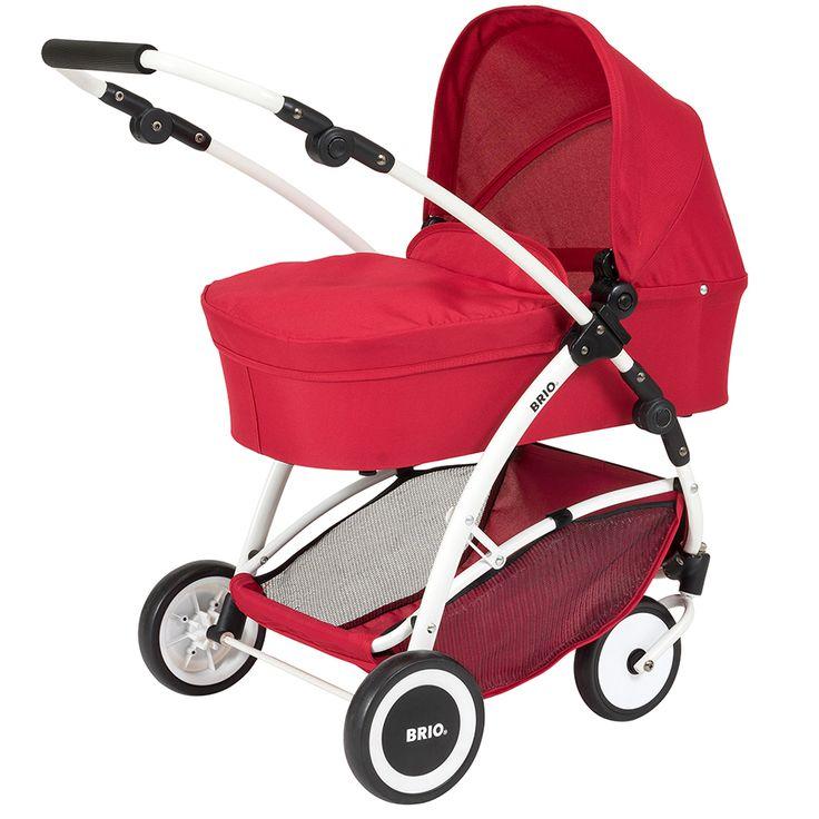 Brio Puppenwagen Spin rot 24900