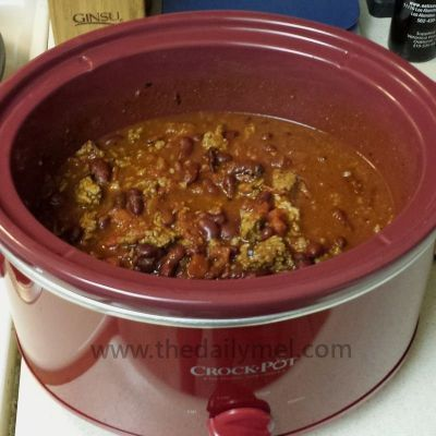 Quick & Easy Slow Cooker Chili - Simple start / Simply filling