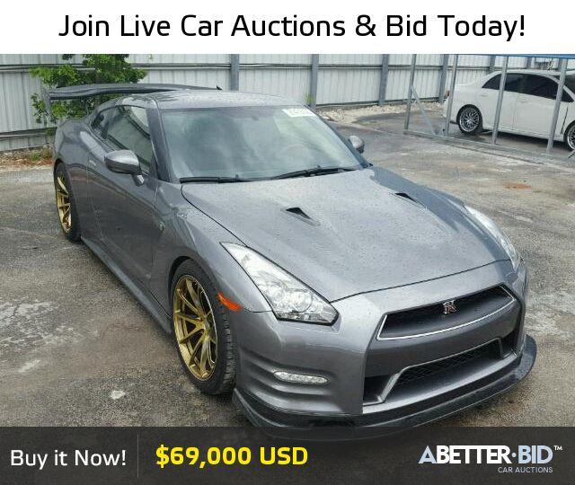 Salvage  2014 NISSAN GTR for Sale - JN1AR5EF1EM271088 - https://abetter.bid/en/27479356-2014-nissan-gt-r_premi
