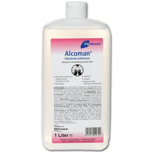 Alcoman 1000ml Tattoo Studio Desinfektion Online Bestellen