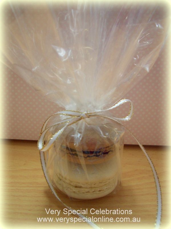 French Macaroons Wedding Favor