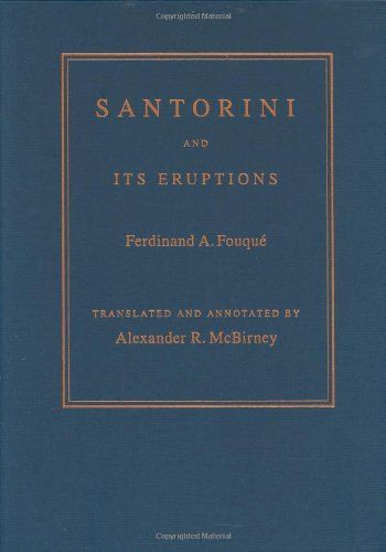 Ferdinand Fouqué's study of the Santorini archipelago in the Aegean Sea was first published in French in 1879. It quickly became known as a valued resource, not only on Santorini but also on volcanoes, their characteristics, and the remarkable archaeological artifacts that Fouqué discovered under the volcanic rock of Santorini's most famous eruption. In short, the work proved invaluable to geologists and archaeologists alike.