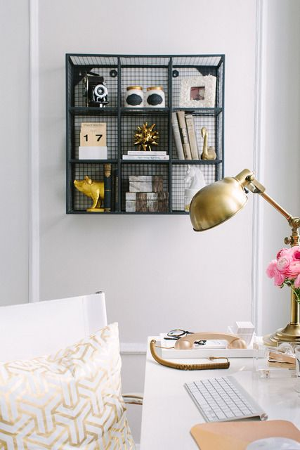 Office gold - Apartment Therapy
