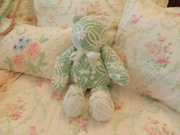 chenille bear - so cute
