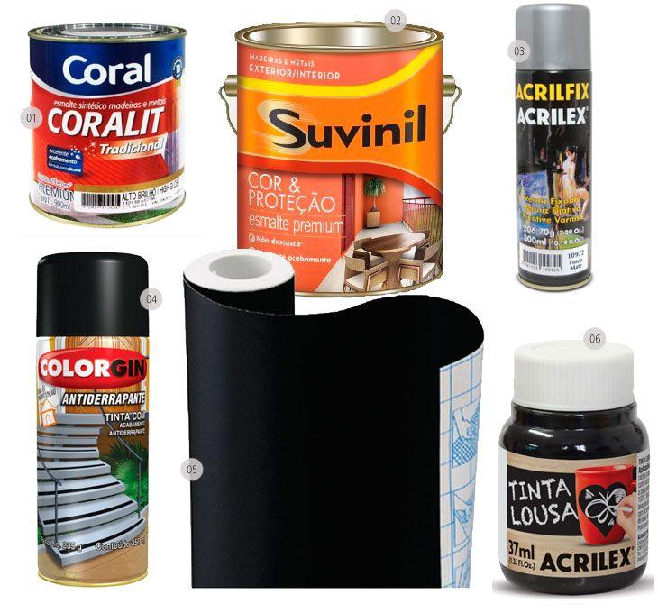 Quadro negro: como fazer e usar na decoração