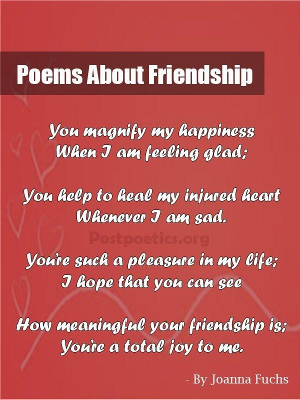 Short poem on my best friend