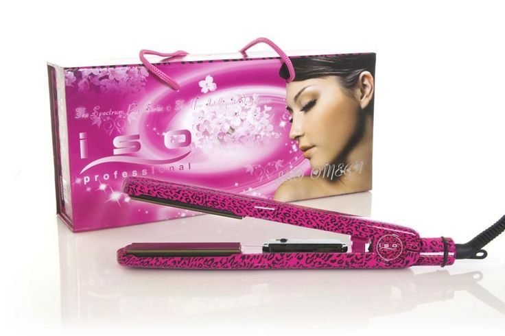 ISO Beauty Omega Leopard Pink 1.5 inch  Description: Omega  Price: 159.95  Meer informatie  #kapper #haircutter #hair #kapperskorting