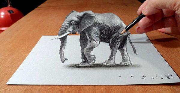 22+ 3D Pencil Drawing - JPG Download