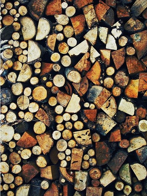 wood pile...I can just imagine a beautiful fire...