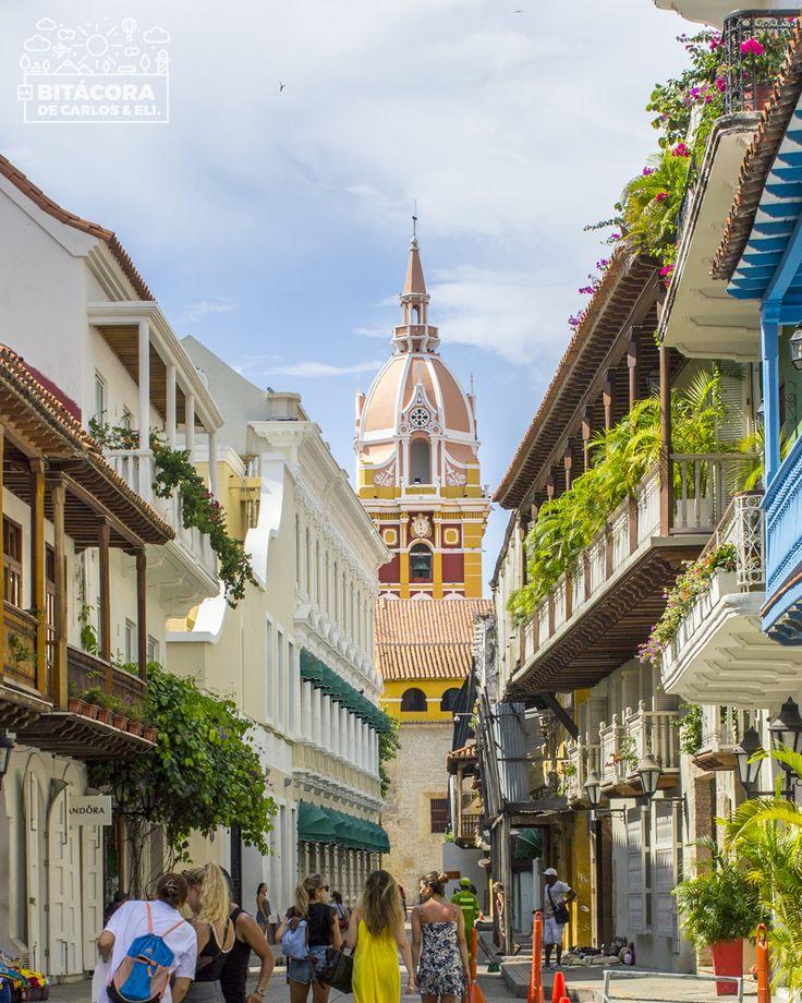 Qué hacer en Cartagena #1 :: Playas de Bocagrande y Ciudad Amurallada