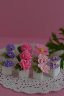 デコレーション教室 La Rose Cherie(ラ・ローズ・シェリー) -角砂糖デコレーション