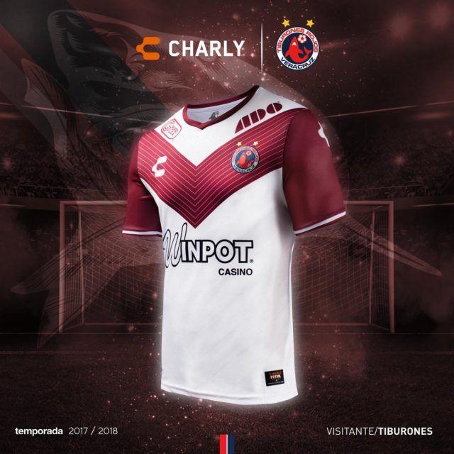 Uniformes Charly Futbol Veracruz 2017-18 - Todo Sobre Camisetas ... 3d517f63d6946