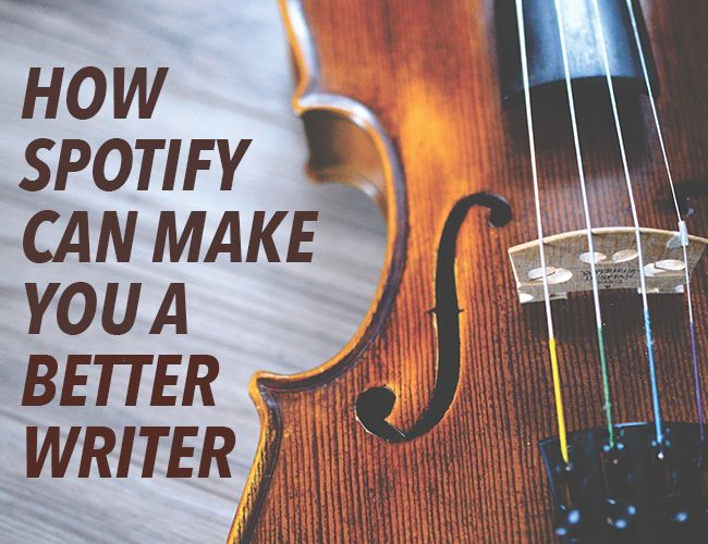 How Spotify Can Make You a Better Writer. 8tracks.com is also great. They have so many tracks for writing and study and inspiration.