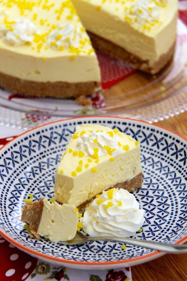 No-Bake Lemon Cheesecake!! No-Bake Lemon Drizzle Cheesecake flavoured with Lemon Drizzle Icing Sugar – a heavenly dessert for everyone to enjoy!