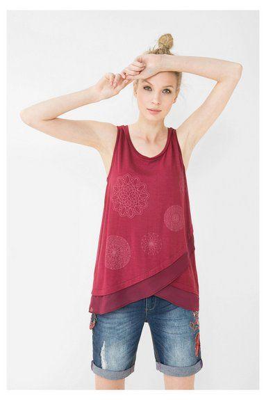 T-shirts et Débardeurs pour femme | Desigual.com