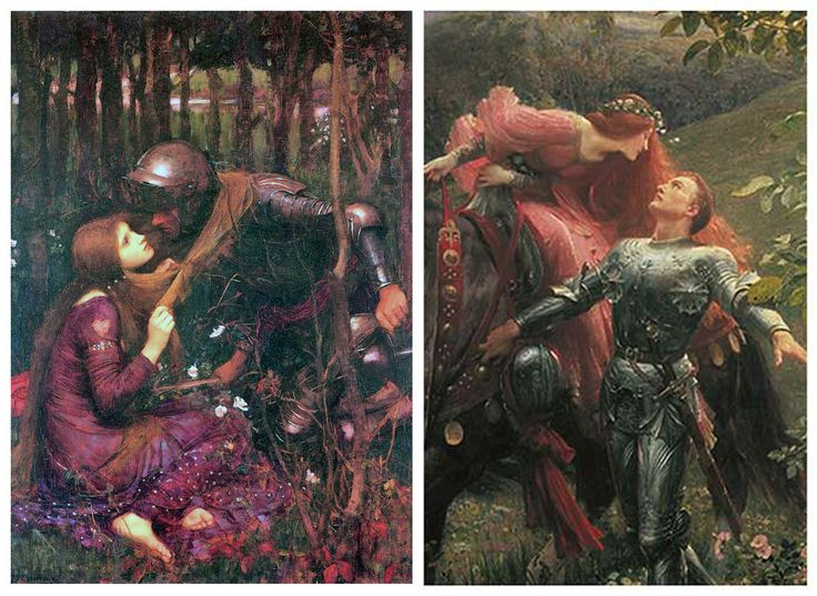 romanticism style in la belle dame Style romanticism  la belle dame sans merci, written in 1819 and published the next year in a form slightly different from the one here,.