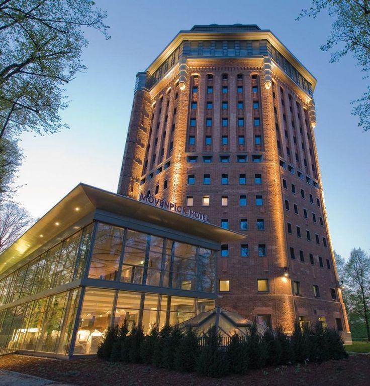 Mövenpick Hotel & Restaurant, Sternschanze, Hamburg - befindet sich in einem ehemaligen, historischen Wasserturm aus dem 19. Jahrhundert