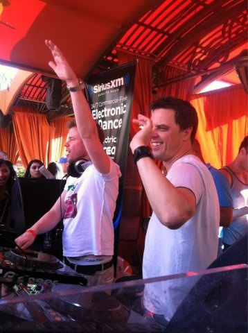 Markus Schulz in the battle with Ferry Corsten in the mix