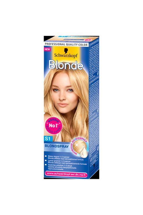 Denna spray bleker skonsamt och stegvis 1 -2 nyanser. Den ger dig naturligt solblonda reflexer i håret och du kan själv välja att applicera det i hela håret eller i utvlada slingor. Ska appliceras i fuktigt hår.<br><br>Hårfärgningsmedel kan orsaka allvarliga allergiska reaktioner. Läs och följ bruksanvisningen. Produkten är inte avsedd för användning på barn under 16 år.<br>Färga inte håret om <br>- du har utslag i ansiktet eller känslig, irriterad och skadad hårbotten,<br>- du har reagerat…