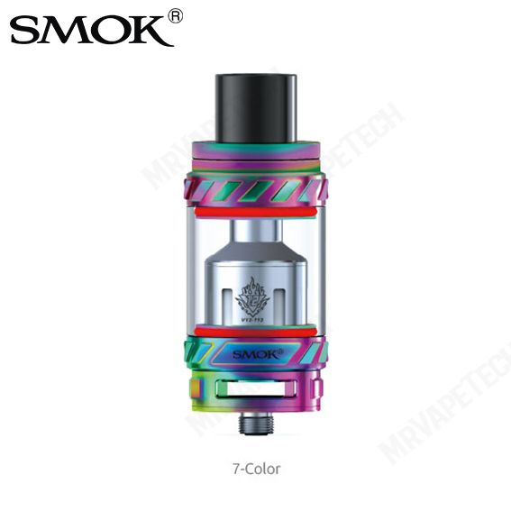 Authentic Smok TFV12 TFV 12 6ML Cloud Beast King RTA Kit – 7-Color