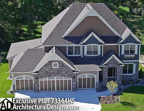 Plan 73344hs game on 2nd floor house plans and theater for House plans with indoor sport court