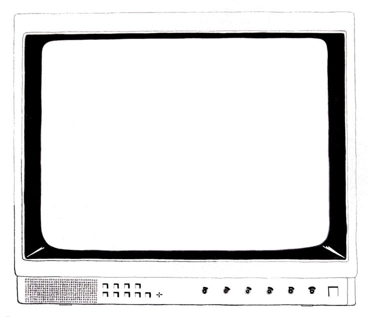 Tv, 2007.   Pen and paper.