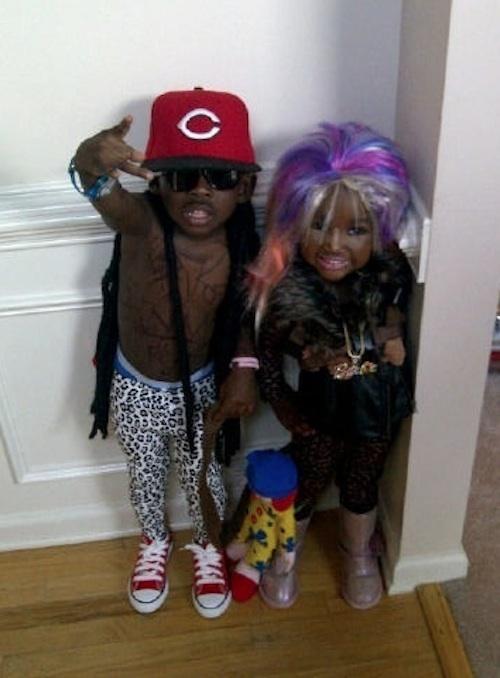 Lil Wayne & Nicki Minaj... I just fell out of my chair