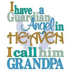 a valentine from Heaven for my grandson from grandpa | grandfather quotes and poems | have a guardian angel in heaven i call ...