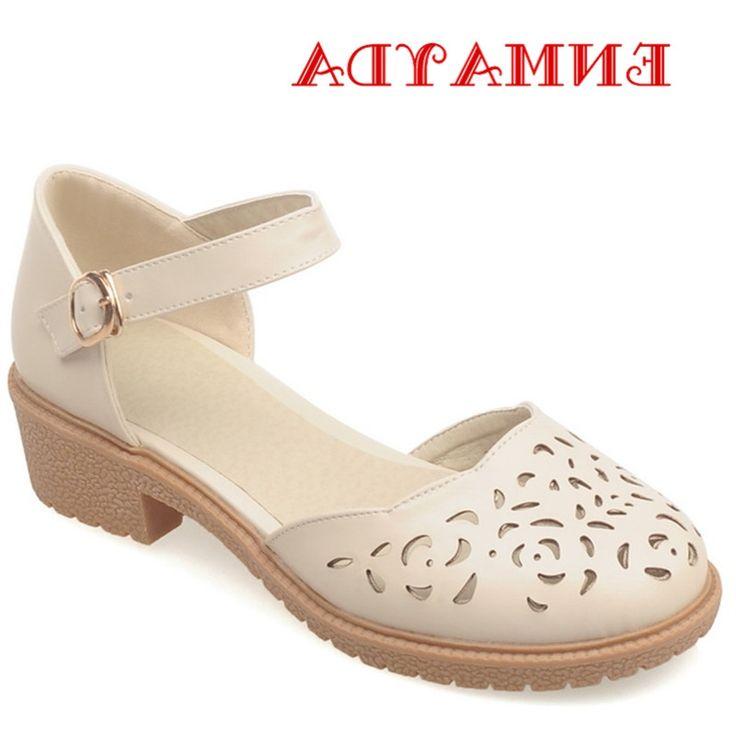 29.20$  Buy now - https://alitems.com/g/1e8d114494b01f4c715516525dc3e8/?i=5&ulp=https%3A%2F%2Fwww.aliexpress.com%2Fitem%2FENMAYDA-Summer-Buckle-Strap-Platform-Sandals-Women-Low-Heels-Cover-Heels-Sweet-Ladies-Shoes-Woman-Cut%2F32671867021.html - ENMAYDA Summer Buckle Strap Platform Sandals Women Low Heels Cover Heels Sweet Ladies Shoes Woman Cut Outs Breathable Sandals 29.20$