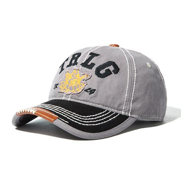 00adff442 Mens Women Embroidery Letter Denim Baseball Cap Outdoor Sport Adjustable  Snapback Visor Hats