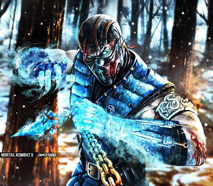 Badass Wallpapers: Sub-Zero From Mortal Kombat X