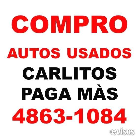 COMPRO AUTOS USADOS CARLITOS PAGA MÀS TE:48631084 COMPRO AUTOS USADOS CARLITOS PAGA MÀS en el acto TE:48631084                                        ... http://palermo.evisos.com.ar/compro-autos-usados-carlitos-paga-ma-s-te-48631084-id-977655