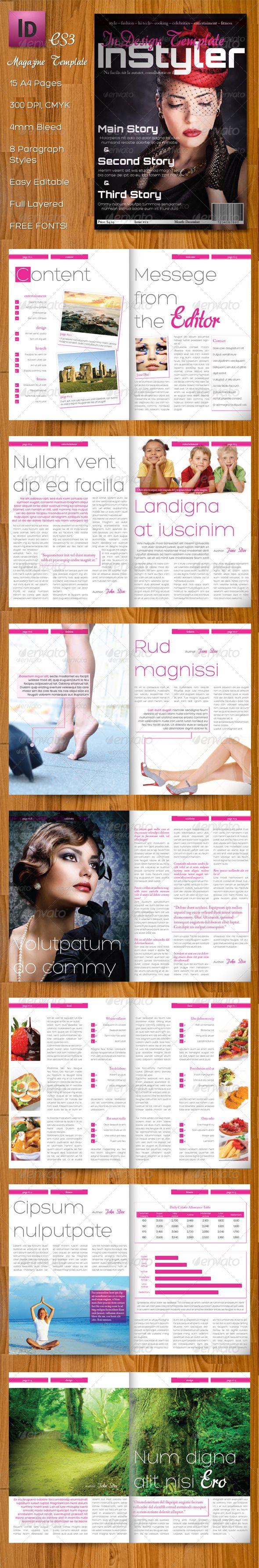 InStyler – InDesign A4 Magazine