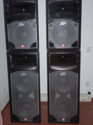 Pair SP2 1000 Watt Pair SP4 2000 watt Peavey Black Widow ...