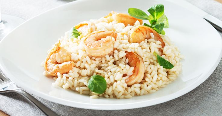 Prawn, Leek and Garlic Risotto by Claire Turnbull