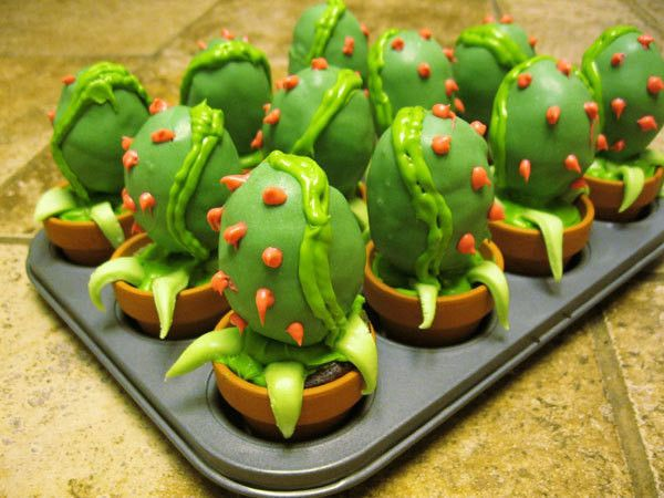 Little Shop Of Horrors Audrey Ii Cakepops  •  Bake cake pops in under 50 minutes