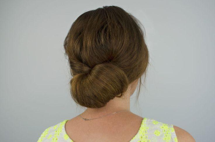 Formal Bun Hairstyle Tutorial