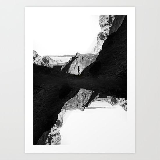 Man of isolation Art Print by Stoian Hitrov - Sto  - $18.00