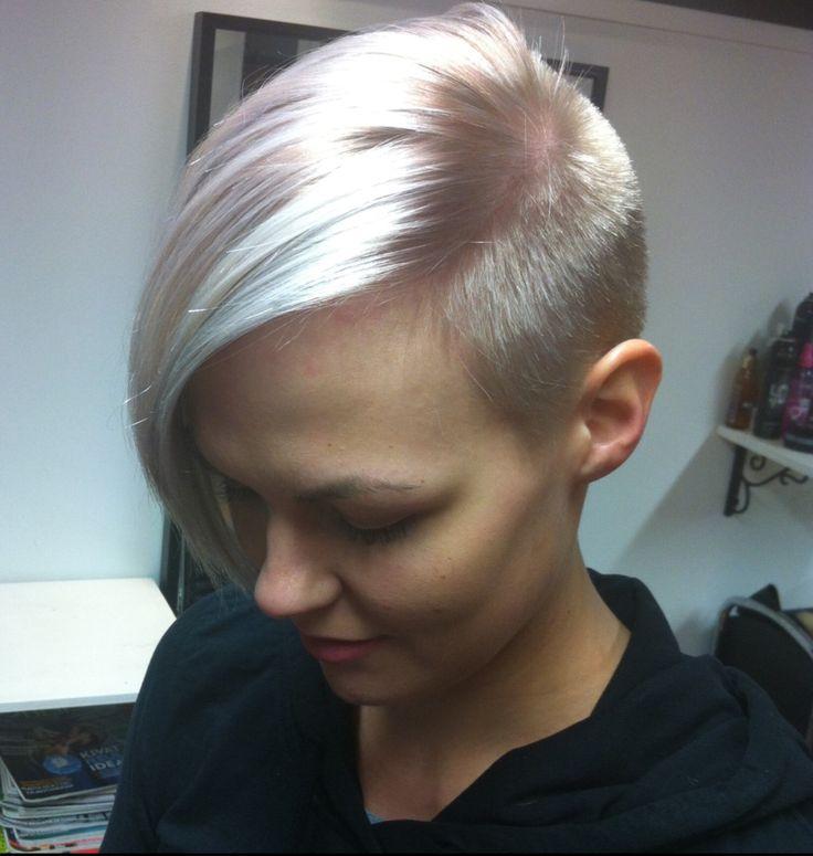 Silver /gray hair