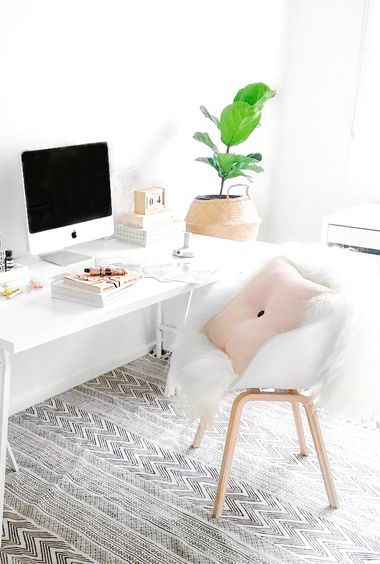 Via Immy and Indi | HAY About a Chair and Dot Cushion | White