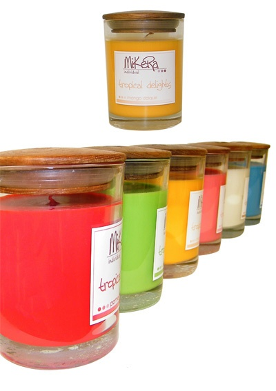 MikeRa Fragrant Jar Candles, natural palm wax harvested from sustainable regenerated forests. 2 for $20 or $14.95ea