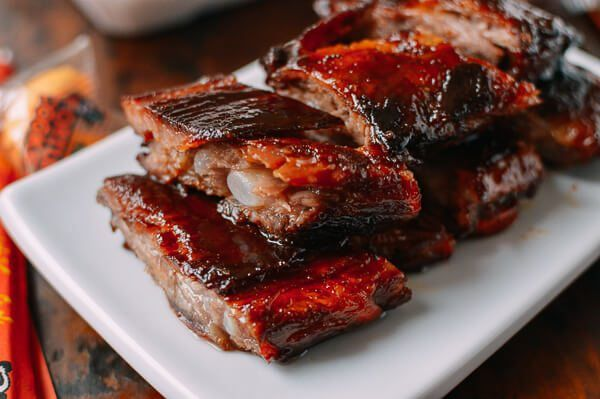 Chinese Rib Tips Fall Apart Tender Takeout Style The Woks Of Life Recipe Rib Tips Pork Ribs Chinese Ribs