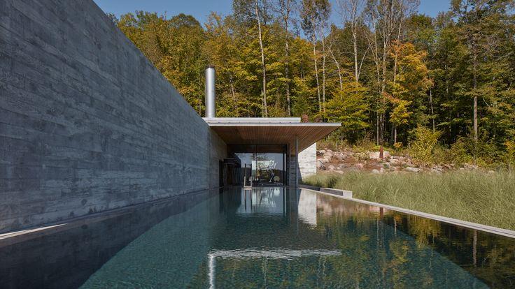 Mackay Lyons Sweetapple Architects Used Concrete Glass And Wood