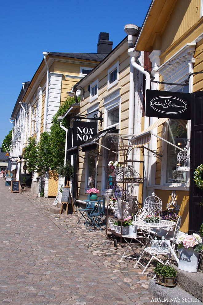 Summer day in Porvoo old town - Adalmina's Secret - Divaaniblogit-Finland