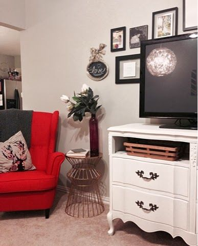 DIY Dresser remodel from a vintage dresser - turned shabby chic!