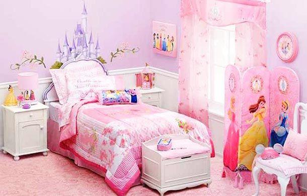 Kamar anak perempuan barbie
