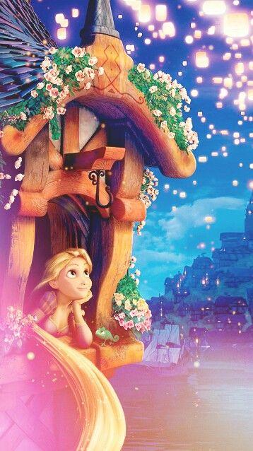 Best 25 disney wallpaper tangled ideas on pinterest - Rapunzel wallpaper ...